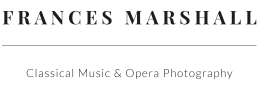 Frances Marshall – Classical Music & Opera Photography
