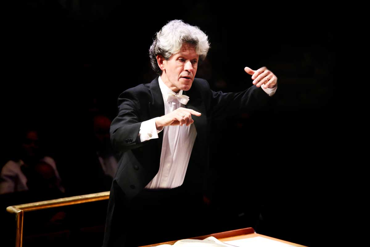 Laurent Wagner, conductor – Photo Frances Marshall
