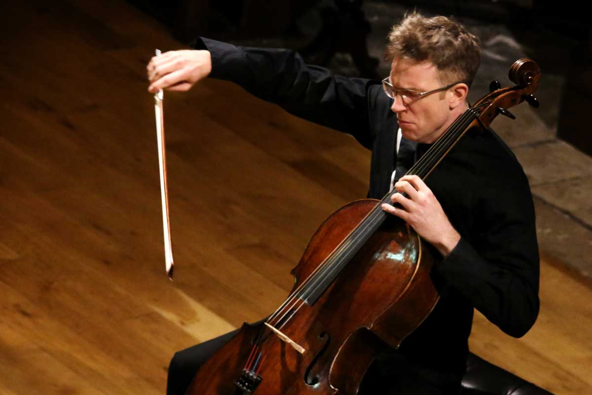 Johannes Moser at Drogheda Classical Music – Photo Frances Marshall