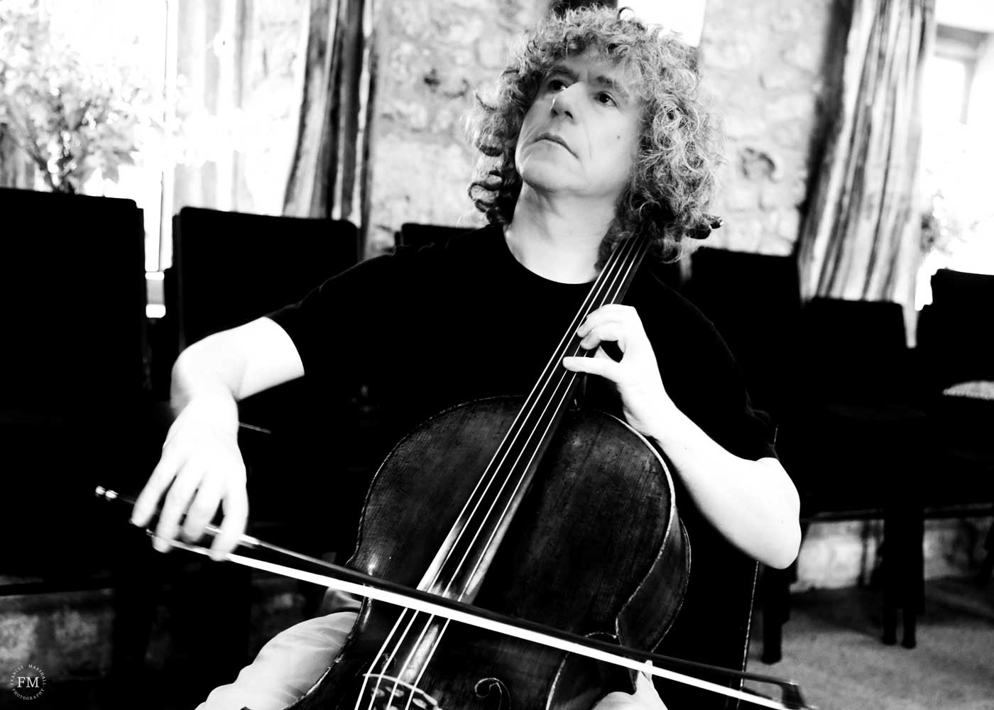 Steven Isserlis, cellist – Photo Frances Marshall