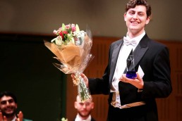 Wiliam Thomas – Veronica Dunne International Singing Competition winner 2019 – Photo Frances Marshall